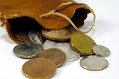 Saco de moedas de 2