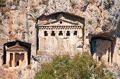 Lycian Tombs  - Landmark Turkey