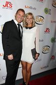 LOS ANGELES - APR 2:  Chris Coyne, Tiffany Coyne at the 2014 Indie Series Awards at El Portal Theate