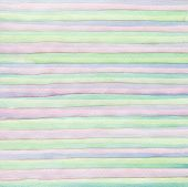 Abstract strip watercolor hand painted background. Paper texture.