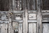 Antique Asian Door, Abstract, Texture, Background