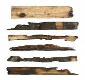 Charred Wood Plank