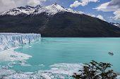 Beautiful Of A Glacier.