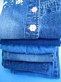 Blue jean stack