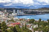 Panoramic View Of Puerto Montt, Chile.