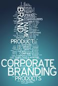 Word Cloud Corporate Branding