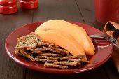 Cantaloupe With Toast