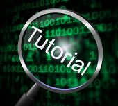 Tutorial Magnifier Represents Online Tutorials And Development