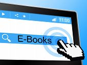 E Books Shows World Wide Web And Online