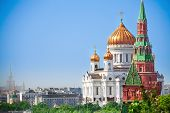 Beautiful Cathedral of Christ the Savior view