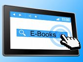 E Books Indicates World Wide Web And Website