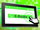 E Books Represents World Wide Web And Websites