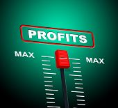 Max Profits Indicates Upper Limit And Ceiling