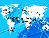 International Business Represents Across The Globe And Countries