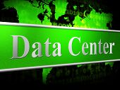 Data Center Indicates Storage Filing And Digital