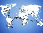 World Diversity Shows Mixed Bag And Range