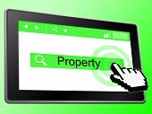 Online Property Means World Wide Web And House