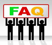 Frequently Asked Questions Shows Asking Info And Faq