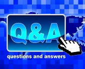 Q And A Shows World Wide Web And Net