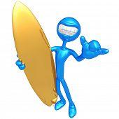 Smiling Surfer