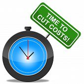 Cut Costs Represents Financial Balance And Expenditure