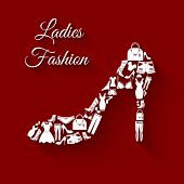 Clothes concept woman