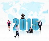 Business Group With Number 2015