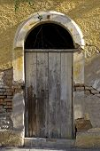 Old Mexican Colonial Entrance Door