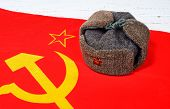 Cap On The Flag Of The Soviet Union