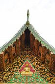 Thai ancient fine art gable
