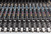 Sound board mixer
