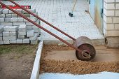 Roller Compaction Of Soil