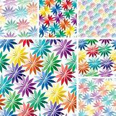 Seamless Flower Patterns