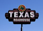 Texas Roadhouse Restaurant Sign