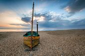 Sailing Boat On A Beach