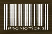 Product Bar Code With Promotion