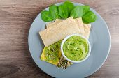 Avocado-buttermilk Green Goddess Dip