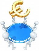 Safety Net Catching A Gold Euro