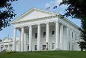 Virginia State Capital Building.