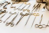 Arranged Surgical Equipment