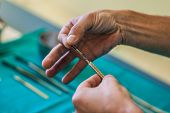 Using A Scalpel