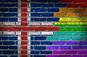 Dark Brick Wall - Lgbt Rights - Iceland