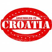 Assembled In Croatia