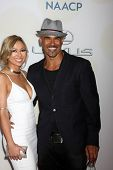 LOS ANGELES - FEB 6:  Shemar Moore at the 46th NAACP Image Awards Arrivals at a Pasadena Convention Center on February 6, 2015 in Pasadena, CA