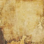 Grunge aging texture, art background. With different color patterns: yellow (beige); brown; gray; black