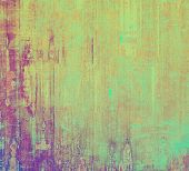 Vintage textured background. With different color patterns: yellow (beige); red (orange); purple (violet); cyan