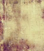 Grunge texture, distressed background. With different color patterns: yellow (beige); brown; gray; purple (violet)