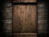 old wood board