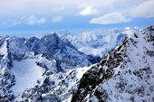 Mountains landscape in High Tatras, Slovakia