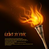 Torch Realistic Background